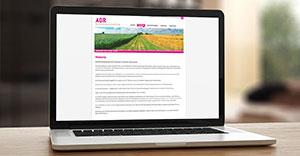 Neue Webseite der AGR Steuerberatungs GmbH