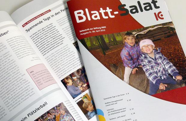 10 Jahre Blattsalat